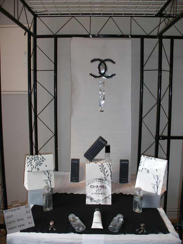 vitrine parfumerie